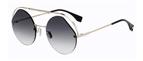 cb88a9d2315f65 Fendi Sonnenbrillen Ribbons   Crystals FF 0325 S Silver Grey Shaded  Damenbrillen