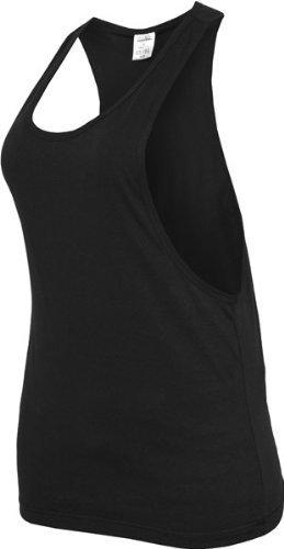 Urban Classics Mujer Señoras Suelto Camiseta Tirantes - Negro, XL
