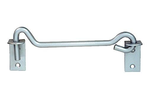 Preisvergleich Produktbild Pollmann Baubeschläge 2160501 Sturmhaken schwer 12 x 600 mm,  feuerverzinkt