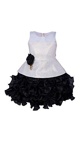 My Lil Princess Baby Girls Birthday Party wear Frock Dress_ New Black...