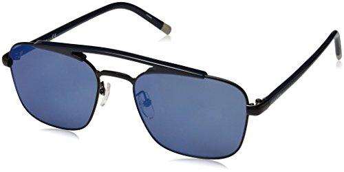 Calvin klein 205w39nyc ck1221s, occhiali da sole uomo, nero (black), 55