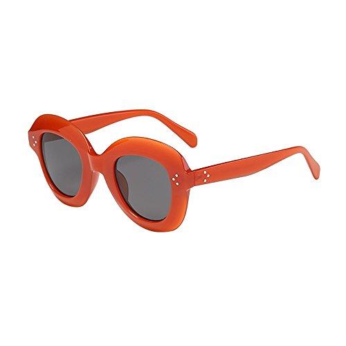 Oyedens Elliptische Sonnenbrille - Retro-Rapper-ovale Form-Rahmen-Sonnenbrille Eyewears der Frauen der Männer