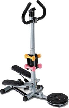 Lifeline Stepper with Twister & Dumbbells