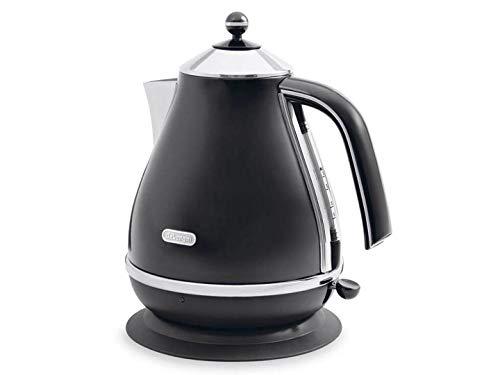 DeLonghi Icona KBO 2001.BK - Calentador de agua, 2000 W, 220-240 V, 50-60 Hz, 230 x 230 x 265 mm, 1300 g, color negro