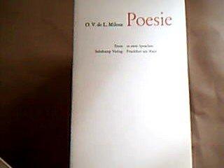 Poesie (zweisprachige Ausgabe). Hrsg. von Hans Magnus Enzensberger, a.d. Französischen u.m. einem Nachwort v. Friedhelm Kemp (=Texte in zwei Sprachen).