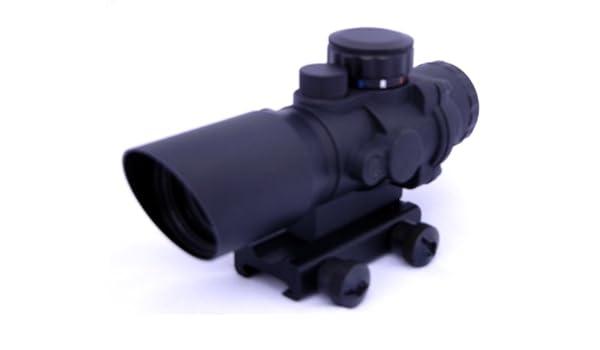 Zielfernrohr Mit Entfernungsmesser Defekt : Omegamfg tactical 4 x prismatischer zielfernrohr mil spec chevron