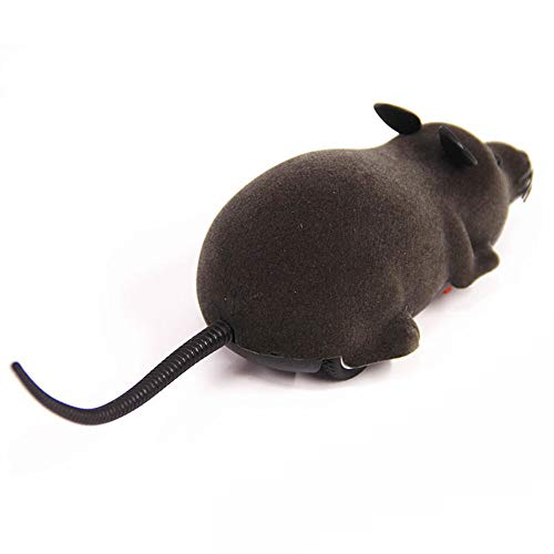 Elektronische Ratte Maus Katzen Hunde Beschäftigung Spielzeug mit Fernbedienung Haustierbedarf