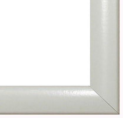 Homedecoration Cornice Coloreeado 50 x x 50 100 cm MDF, Cornice in Stile Moderno 100 x 50 cm, Coloreee selezionato  Bianco Lucido con Vetro plastico antiriflesso 1mm 445610