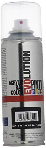 Novasol M123001 - Pintura spray acrilica 270 cc negro mate