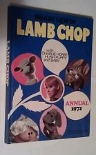 Lamb Chop Annual 1972 Shari Lewis with Charlie Horse Hush Puppy and Baby Book