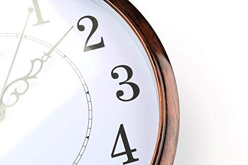 Tosnail 30 cm Orologio da Parete di Silenzioso Stile Vintage Decorazione a Muro - 2