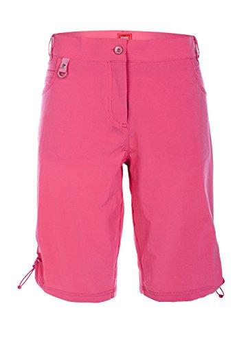 XFORE Golf Damen Outdoor Stretchhose kurz Funktionshose Bermuda, Minetta, atmungsaktiv, in Pink, Größe M