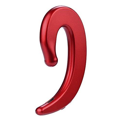 bescita Bluetooth Sport in-Ear Kopfhörer, V4.2 IPX5 Schweißresistent Stereo magnetischer Sport Ohrhörer mit 10 Meter Reichweite, Bone Conduction Kopfhörer für iPhone, Huawei und Samsung (Rot) Lg Surround-sound-systeme