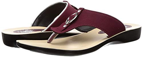 Paragon Women's Maroon Fashion Slipper-5 UK/India (38 EU)(PU7097L)