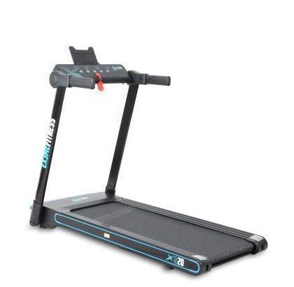 Ex3me Fitness Tapis roulant Professionale S20, Pieghevole salvaspazio, Bluetooth, App Fitshow, Elettrico,12 km/h,Top di Gamma,Motore 2,5 HP Max