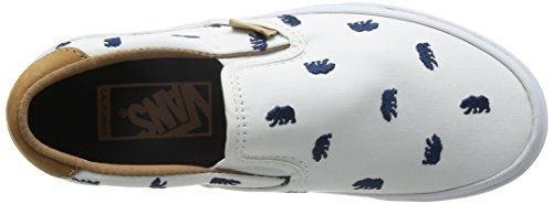 Vans Slip-On 59 CA Monogram White Dress Blues Blanc
