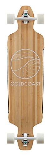 Gold Coast Longboard Bamboo drop-through Classic, talla única, COM-CB-DT