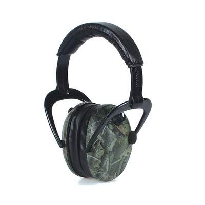 Linshenyoulu Neue Dead Leaf Camouflage Outdoor Shooting Tactics Intelligente Schalldämmung Schallschutz Ohrenschützer Cs Shooting Pickup Anti-Lärm-Kopfhörer