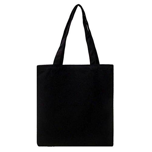 LUFA Normallack Schulter Beutel kleine frische Einkaufstaschen Kursteilnehmer Schwarz Mit Double Layer