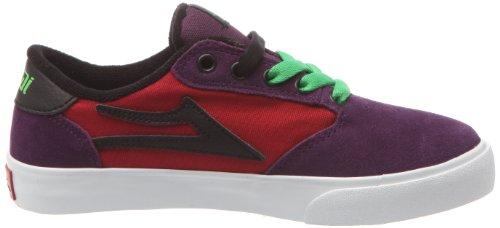 Lakai Pico, Scarpe da Skateboard unisex bambino Rosso (Rouge/Violet)