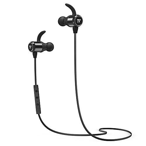Bluetooth Kopfhörer 4.2 TaoTronics Magnetische Kabellose In Ear Kopfhörer, Enger Sitz für Sport mit MEMS Mikro und Keramik-Antenne (Tao Bluetooth)