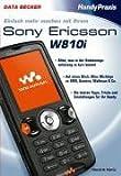 Sony ericsson w810i pour antenne-noir d'occasion  Livré partout en Belgique