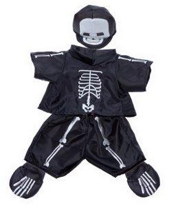 Skelett Kostüm passen die meisten 20,3cm-10