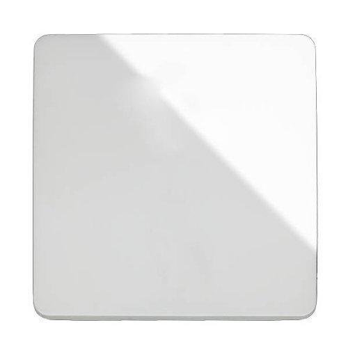 Trendi Switch - Interruptor de pared de diseño, color blanco