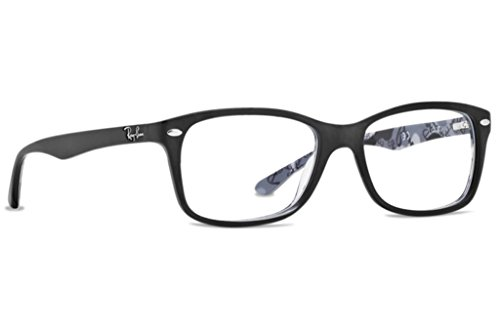 ray-ban-per-donna-rx5228-5405-highstreet-53-mm-top-black-on-texture-camuflage-