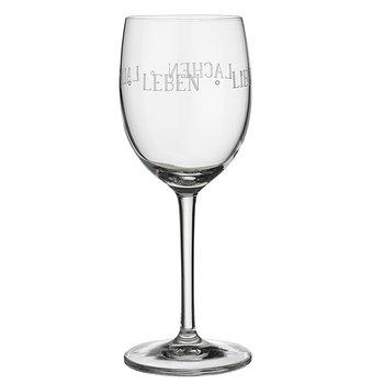 Vino Rotweinglas Leben Lieben Lachen