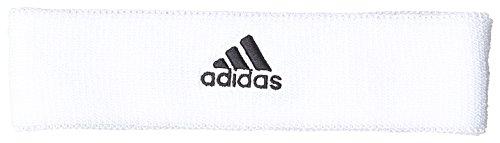 adidas Tennis Headband Schweißstirnband White/Black, - Tennis Adidas Stirnband Herren