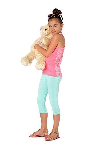 AE - Leggings - para niña Menta Verde 11 años