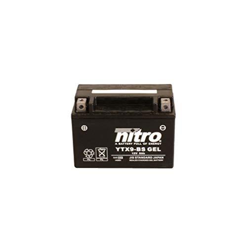 Batterie 12V 8AH YTX9-BS Gel Nitro 50812 ET4 125 M04 96-99