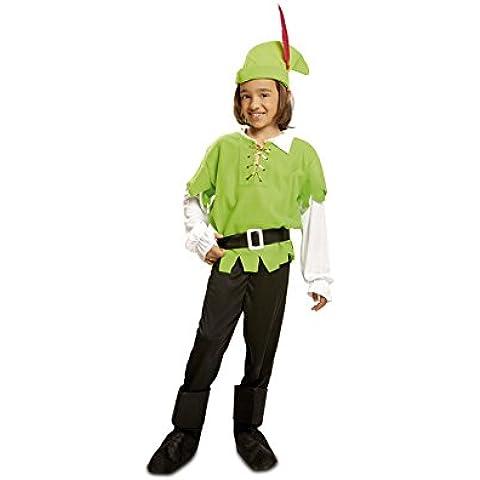 My Other Me - Disfraz de Robin Hood,, talla 7-9 años, color verde (Viving Costumes MOM00783)