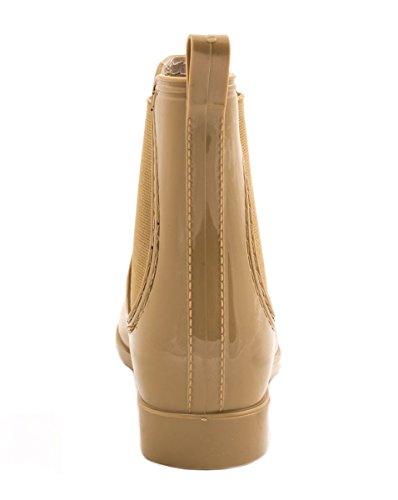 Elara - Stivali di gomma Donna Kaki