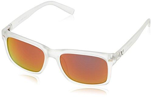 Dice Unisex Sonnenbrille, transparent/Liliac Revo, One Size, D06210-36