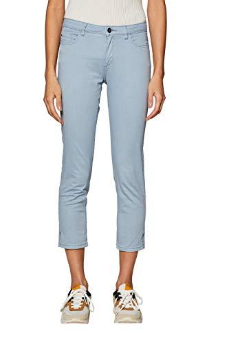 ESPRIT Damen 039EE1B019 Hose, Blau (Light Blue Lavender 445), W42/L26(Herstellergröße: 42/26)