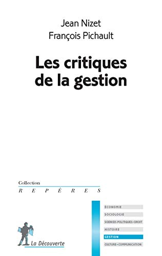 Les critiques de la gestion par Jean NIZET, François PICHAULT