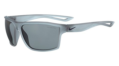 Nike Golf Legend Sunglasses, Matte Crystal Wolf Grey/Obsidian Frame, Grey with Silver Flash Lens image