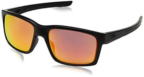 Oakley Herren Sonnenbrille Mainlink Schwarz, 57