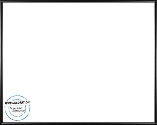 Home Decoration Kunststoff Bilderrahmen Aruba 35 x 50 cm Größe Wählbar Verglasung APET Antireflex Acrylglas UV 1mm Versandkostenfrei 50 x 35 cm hier: Schwarz Matt (Bilderrahmen Verglasung)