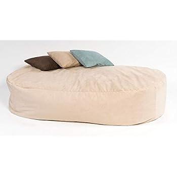 Bean2bed Beanbag Bed Double Cord Latte Amazon Co Uk