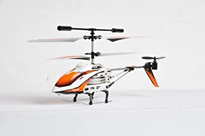 XStunt Tough guy - helicopter orange - Amazing! - Sits up and ready to fly again after each crash by XStunt
