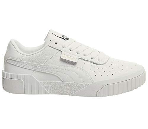 Puma Damen CALI WN\'s Sneaker, Weiß White 01, 39 EU