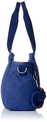Kipling Elysia, Borsa con Maniglia Donna Blu (Jazzy Blue)