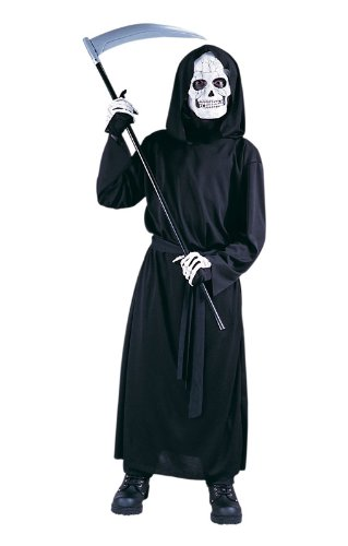 Sensenmann Kinderkostüm mit (Reaper Kostüme Grave)