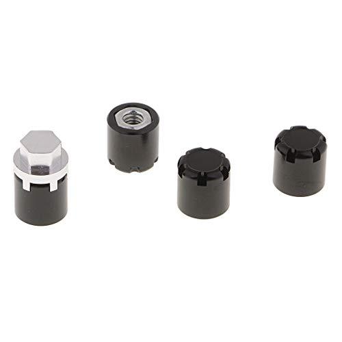 ck Felgen 4mm Mutter Sicherungsmuttern Befestigung Muttern für 1/10 RC Auto Crawler RC-Fahrzeugen - A ()