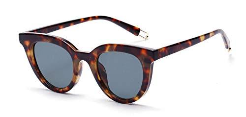 CQYYDD Black Cat Eye Sonnenbrille Uv400 Classic Designer Frauen Retro Cat Eye Sonnenbrille Für Frauen Männer Weiß Rot wie in Foto Schildkröte Gezeigt