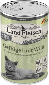 Landfleisch LaFl. Cat Topf Gefl. +Wild 400gD