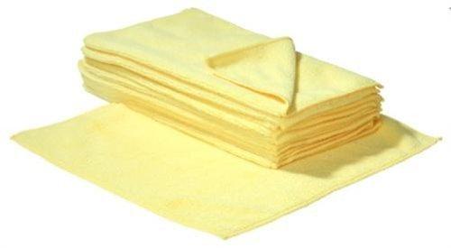 20 x SBS Mikrofasertücher 30 x 30 cm gelb Microfasertuch Mikrofaser Tuch Microfasertücher